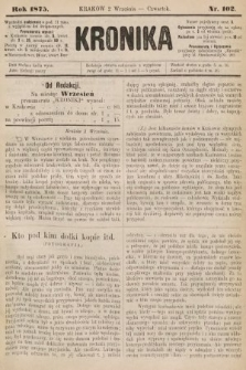 Kronika. 1875, nr102
