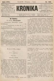 Kronika. 1875, nr103