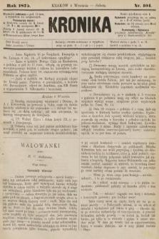 Kronika. 1875, nr104