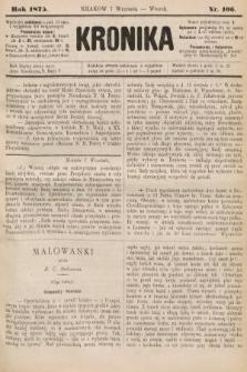 Kronika. 1875, nr106