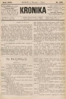 Kronika. 1875, nr108