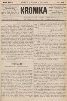 Kronika. 1875, nr110