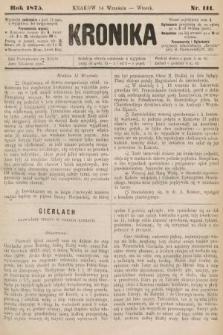 Kronika. 1875, nr111