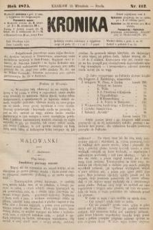 Kronika. 1875, nr112