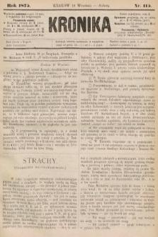 Kronika. 1875, nr115