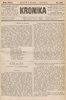 Kronika. 1875, nr116