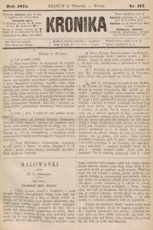 Kronika. 1875, nr117