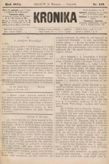 Kronika. 1875, nr119