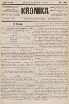 Kronika. 1875, nr121