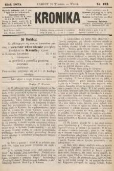 Kronika. 1875, nr123