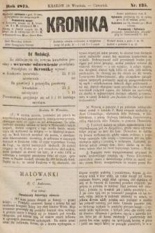 Kronika. 1875, nr125