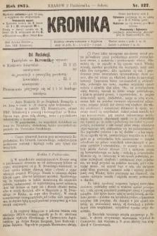 Kronika. 1875, nr127