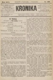 Kronika. 1875, nr128