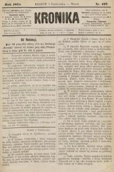 Kronika. 1875, nr129