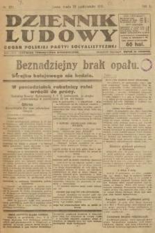 Dziennik Ludowy : organ Polskiej Partyi Socyalistycznej. 1919, nr271
