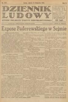 Dziennik Ludowy : organ Polskiej Partyi Socyalistycznej. 1919, nr292
