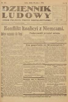 Dziennik Ludowy : organ Polskiej Partyi Socyalistycznej. 1919, nr313
