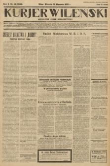 Kurjer Wileński : niezależny organ demokratyczny. 1933, nr19