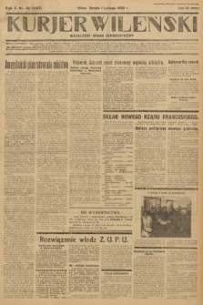 Kurjer Wileński : niezależny organ demokratyczny. 1933, nr26