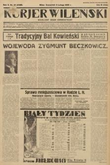 Kurjer Wileński : niezależny organ demokratyczny. 1933, nr27