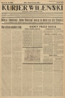 Kurjer Wileński : niezależny organ demokratyczny. 1933, nr28