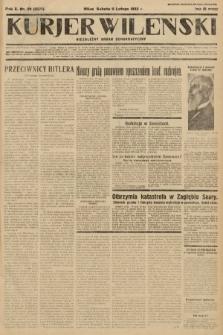 Kurjer Wileński : niezależny organ demokratyczny. 1933, nr36