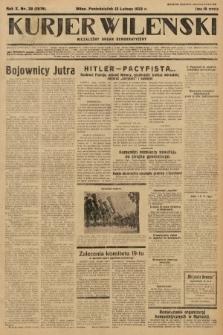 Kurjer Wileński : niezależny organ demokratyczny. 1933, nr38