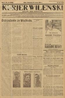Kurjer Wileński : niezależny organ demokratyczny. 1933, nr44