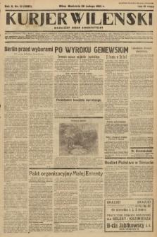 Kurjer Wileński : niezależny organ demokratyczny. 1933, nr51