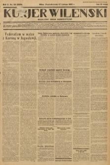 Kurjer Wileński : niezależny organ demokratyczny. 1933, nr52