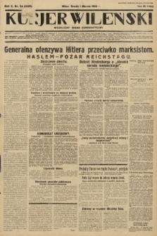 Kurjer Wileński : niezależny organ demokratyczny. 1933, nr54