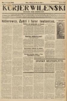 Kurjer Wileński : niezależny organ demokratyczny. 1933, nr67
