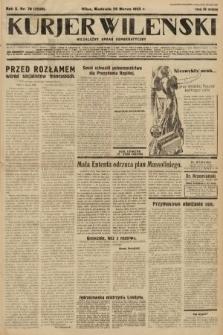 Kurjer Wileński : niezależny organ demokratyczny. 1933, nr79