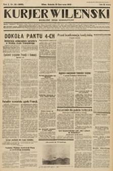 Kurjer Wileński : niezależny organ demokratyczny. 1933, nr151