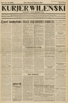 Kurjer Wileński : niezależny organ demokratyczny. 1933, nr154