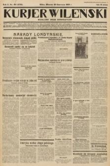 Kurjer Wileński : niezależny organ demokratyczny. 1933, nr160
