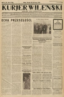 Kurjer Wileński : niezależny organ demokratyczny. 1933, nr168
