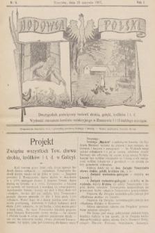 Hodowca Polski : dwutygodnik poświęcony hodowli drobiu, gołębi, królików itd. 1907, nr5