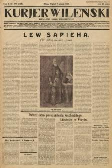Kurjer Wileński : niezależny organ demokratyczny. 1933, nr177
