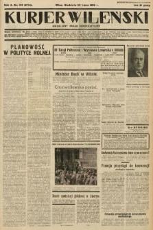 Kurjer Wileński : niezależny organ demokratyczny. 1933, nr193