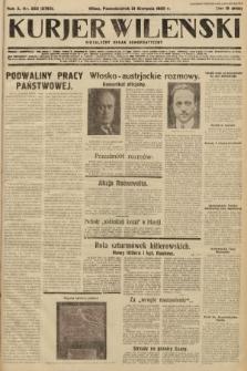 Kurjer Wileński : niezależny organ demokratyczny. 1933, nr222