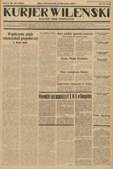Kurjer Wileński : niezależny organ demokratyczny. 1933, nr257