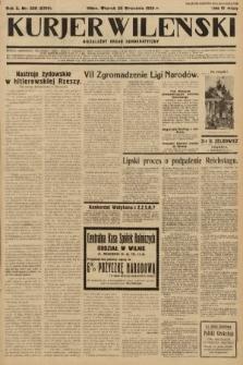 Kurjer Wileński : niezależny organ demokratyczny. 1933, nr258