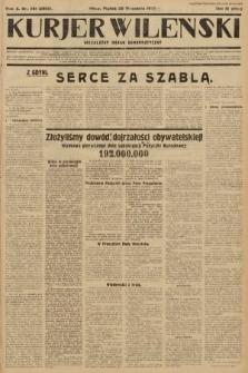 Kurjer Wileński : niezależny organ demokratyczny. 1933, nr261