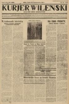 Kurjer Wileński : niezależny organ demokratyczny. 1933, nr275