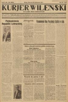 Kurjer Wileński : niezależny organ demokratyczny. 1933, nr310
