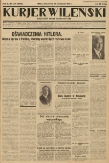 Kurjer Wileński : niezależny organ demokratyczny. 1933, nr315