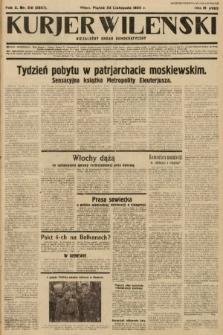 Kurjer Wileński : niezależny organ demokratyczny. 1933, nr316