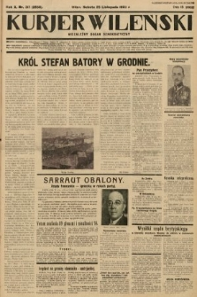 Kurjer Wileński : niezależny organ demokratyczny. 1933, nr317