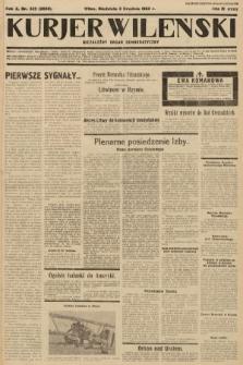 Kurjer Wileński : niezależny organ demokratyczny. 1933, nr325
